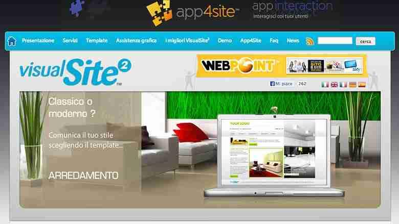 visual site pagine gialle premium